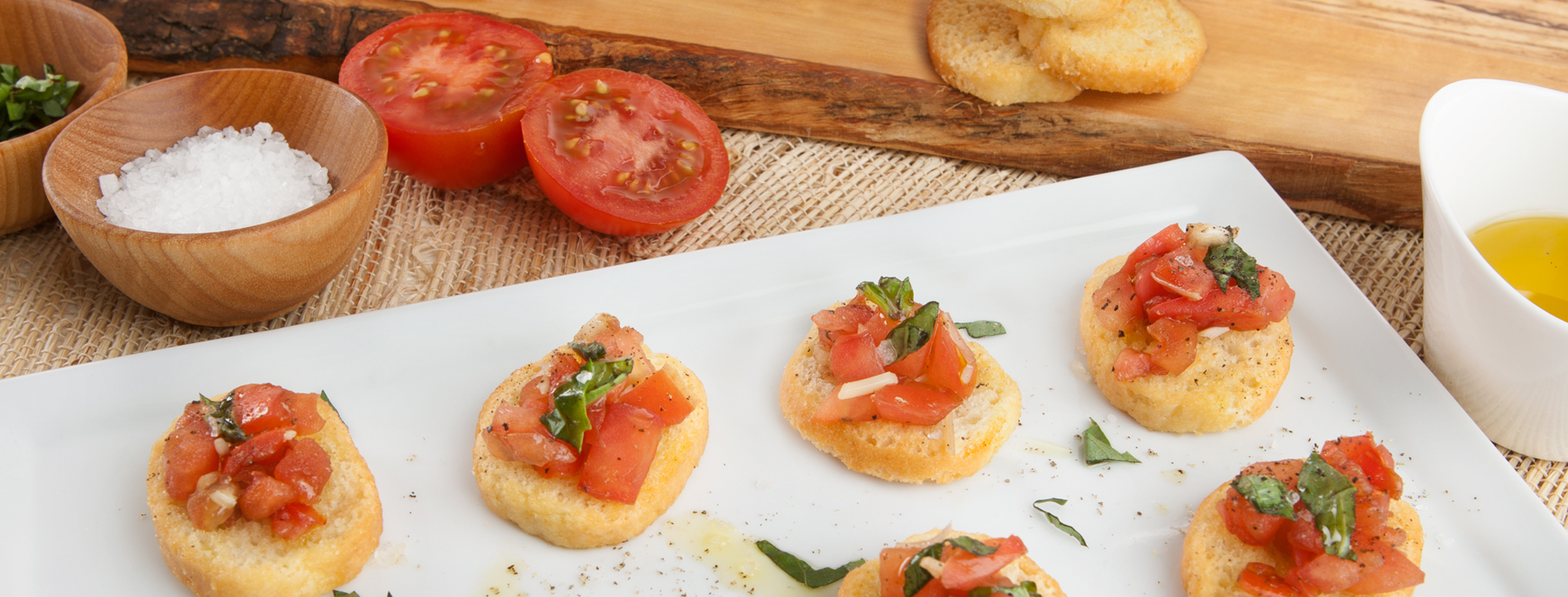 Better Than Your Mother's Bruschetta