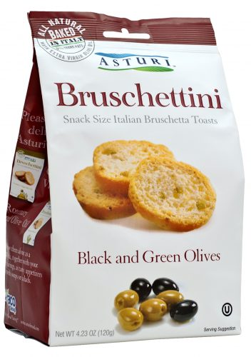 Bruschettini Black and Green Olives