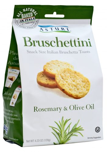 Bruschettini Rosemary and Olive Oil